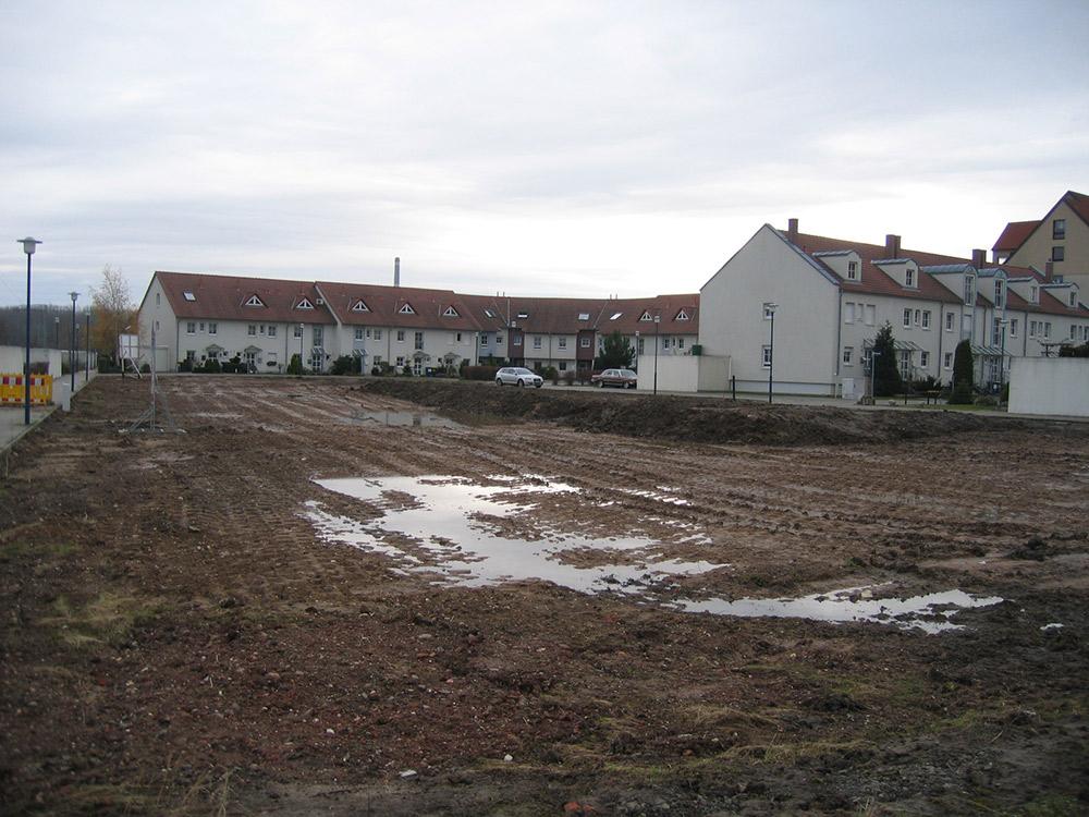 """Baugebiet """"Am See"""", Schwanenweg, Markranstädt"""